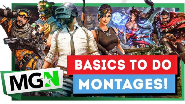 How to do Gaming Montages: The Good Way | Games on Queue | MGN (2019)