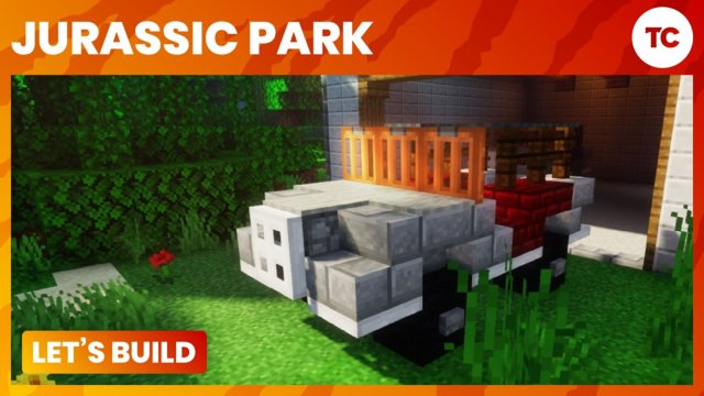 Let's Build Jurassic Park - Jeep Garage - Part 2/3