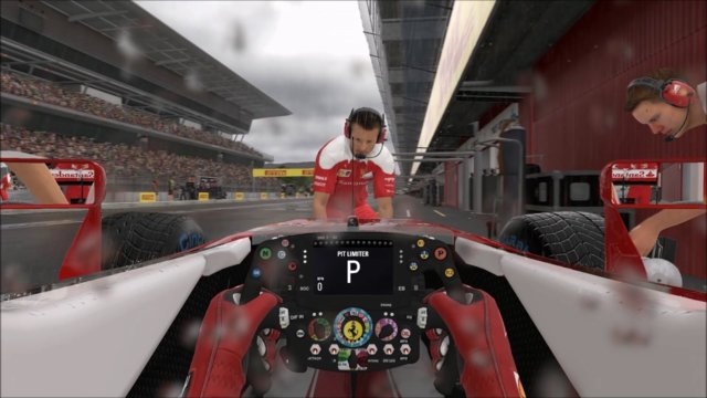 "F1 2016 - Barcelona Catalunya - Gameplay ""IN FULL WET CONDITIONS!"""