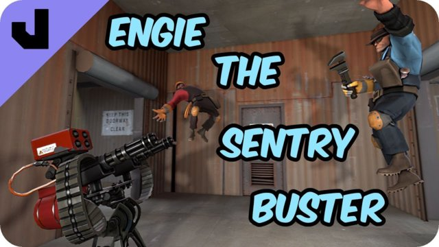 Engie The Sentry Buster (TF2 Clip)
