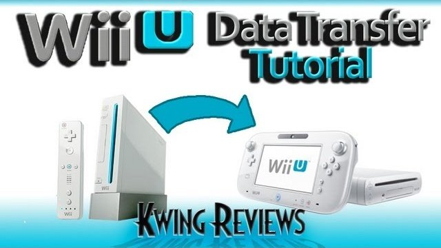How to Transfer data from Wii to Wii U