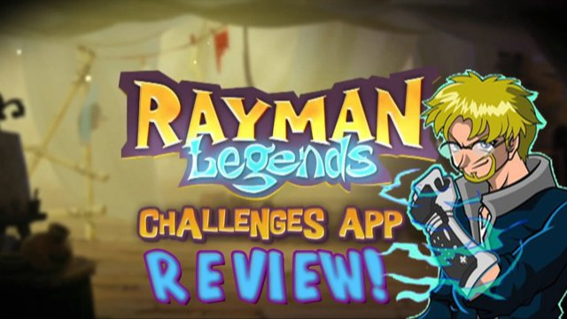 Rayman Legends Wii U Review - Challenges App!