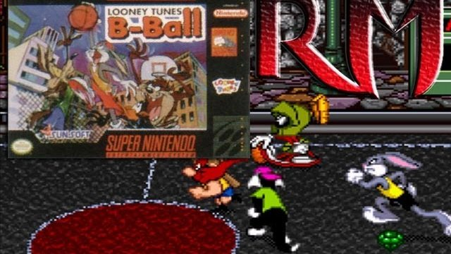 Retro Mondays - Looney Tunes B-Ball (Snes) Review