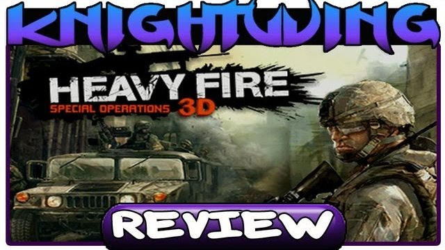 Heavy Fire Special Operations 3D Review - Nintendo 3DS (HD)